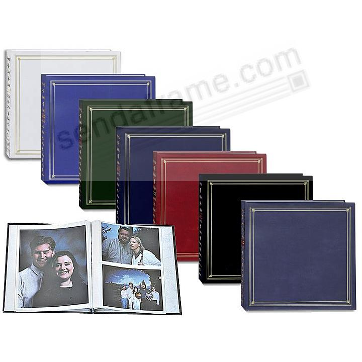 Post-Bound pocket album for 5x7 and 8x10 prints - SAVE with assorted colors