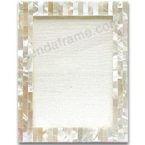precious white mother of pearl frame by tizo