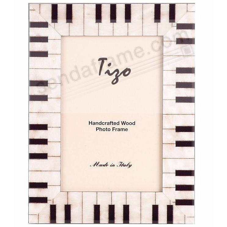 The Ebony Ivory Piano Frame Crafted In Italy By Tizo Picture