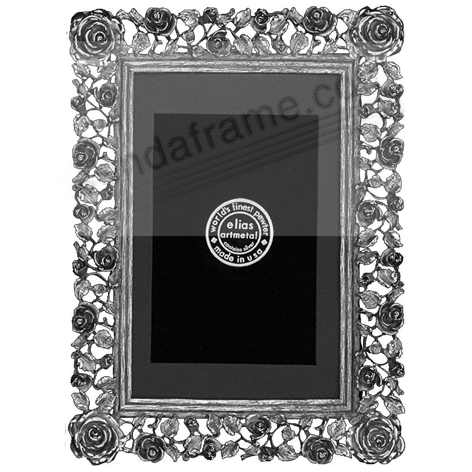 TRELLIS ROSE luxe Fine Pewter<br>by Elias Artmetal&reg;