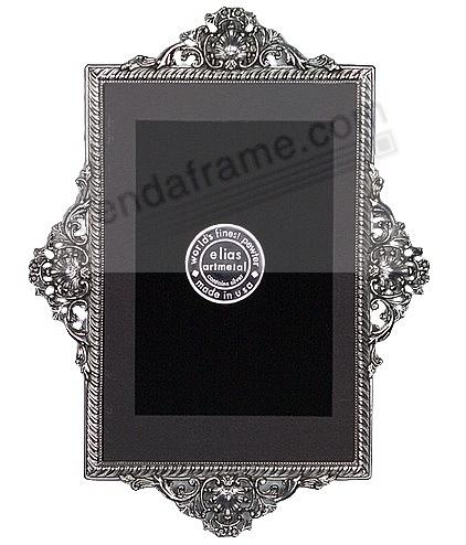 FRENCH VICTORIAN CANALETTO Fine Pewter wall frame by Elias Artmetal®