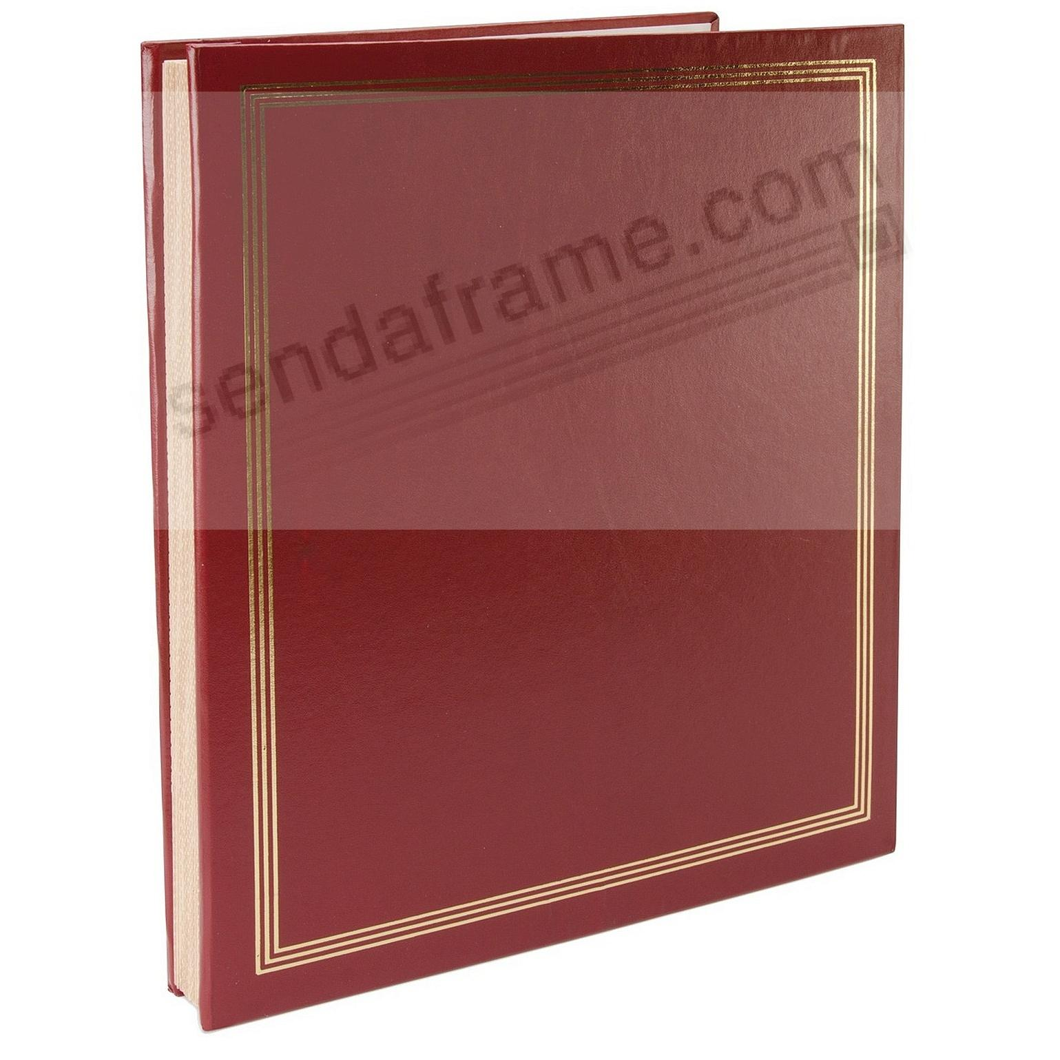 Burgundy JUMBO 11¾x14 scrapbook by Pioneer®