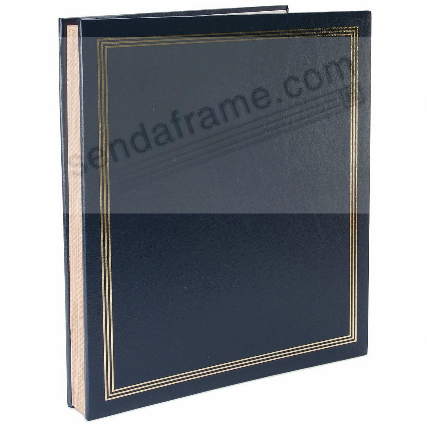 Navy JUMBO 11¾x14 scrapbook by Pioneer®