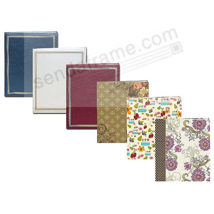 JUMBO 11¾x14 Scrapbook by Pioneer® - SAVE with ASSORTED COLORS (minimum 3 pcs)