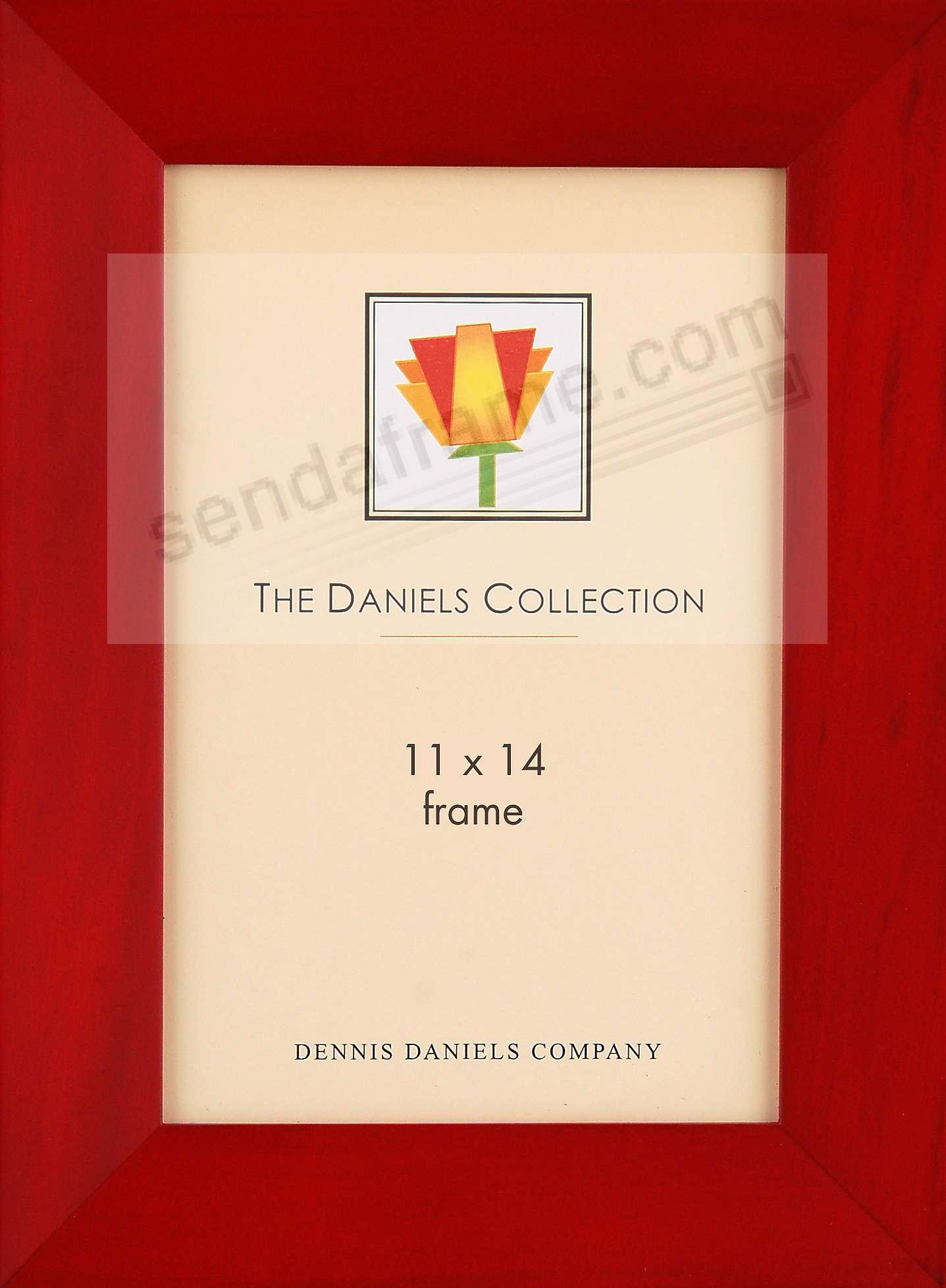 Rosewood BEVELLED GALLERY WOODS classic 11x14 frame by Dennis Daniels®