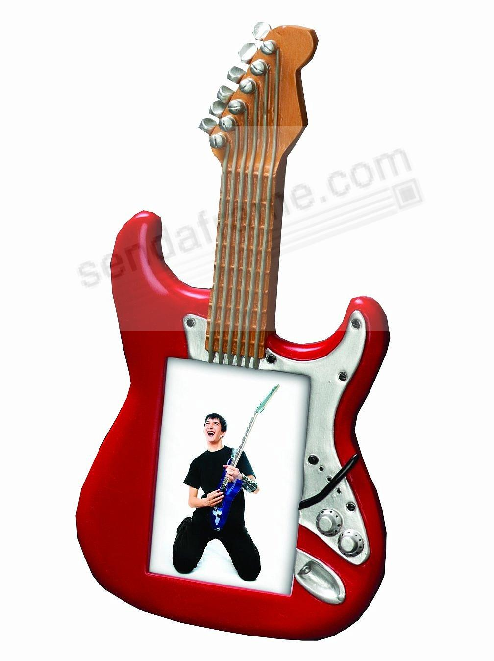 Rock star red guitar frame for your music fan by prinz picture rock star red guitar frame for your music fan by prinz jeuxipadfo Gallery