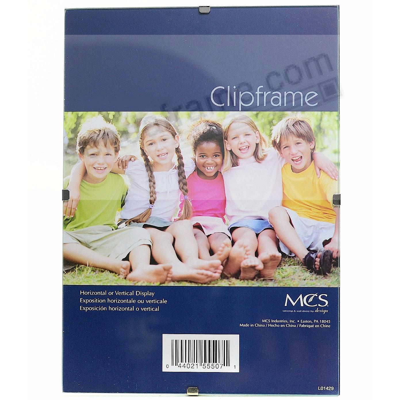 The FRAMELESS Glass Clip frame in poster size by MCS®