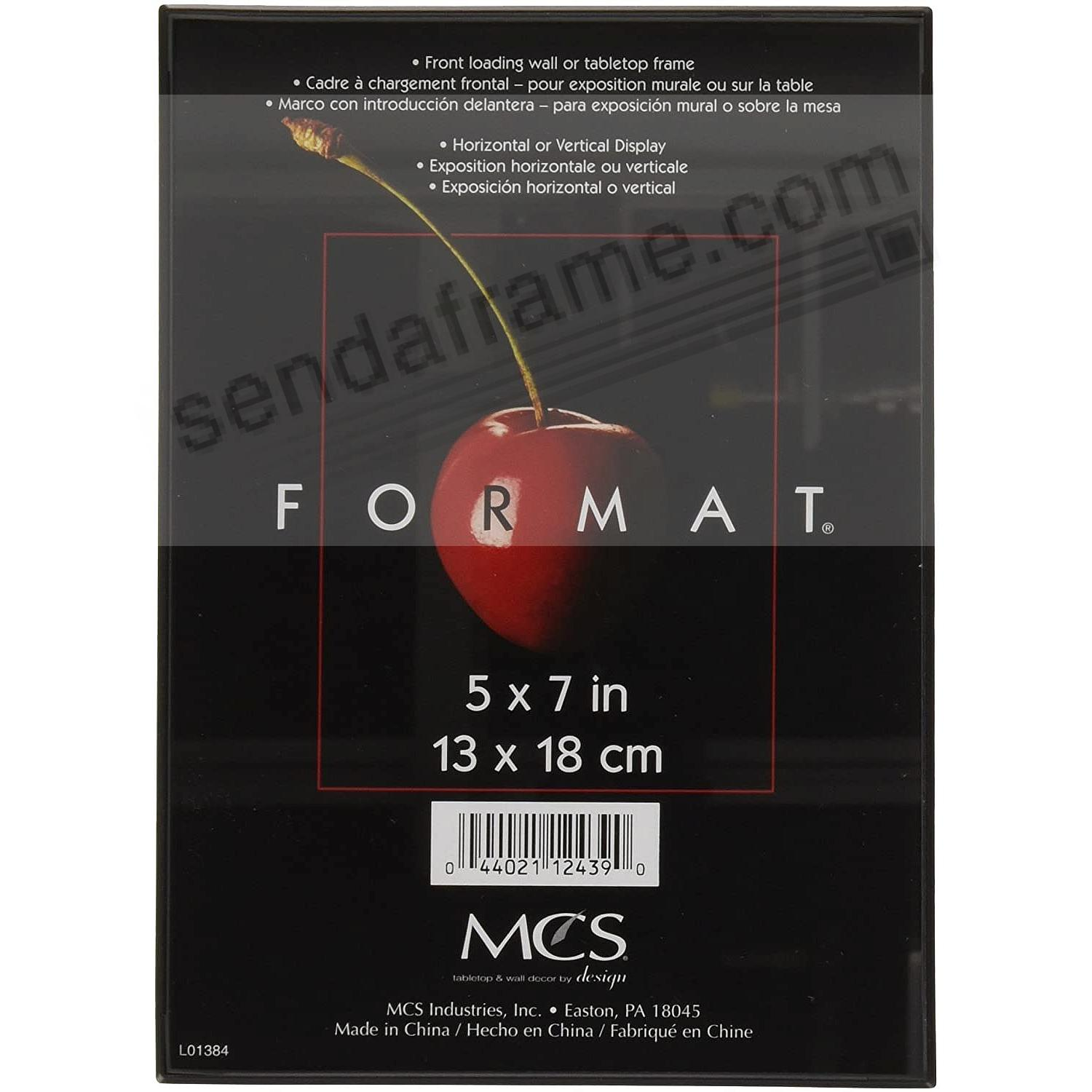 The ORIGINAL FORMAT black ABS document/print frame