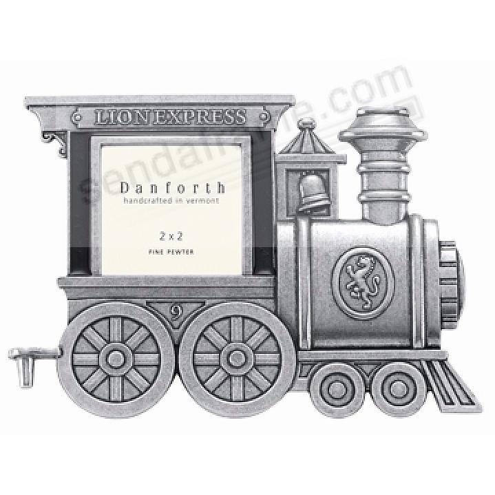 Locomotive collectible train car frame in fine pewter - First At ...