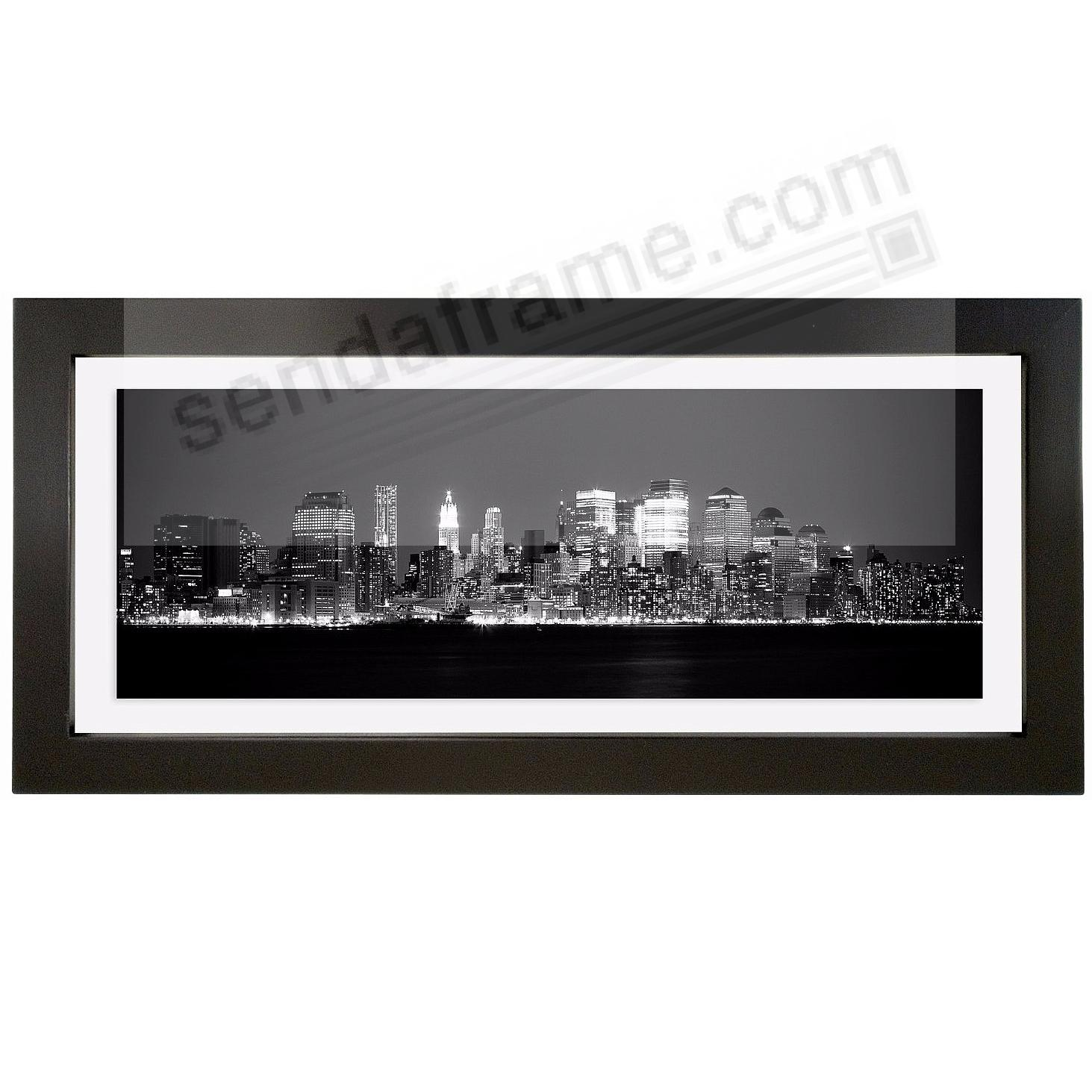 the original float u and u double sided black frame panoramic