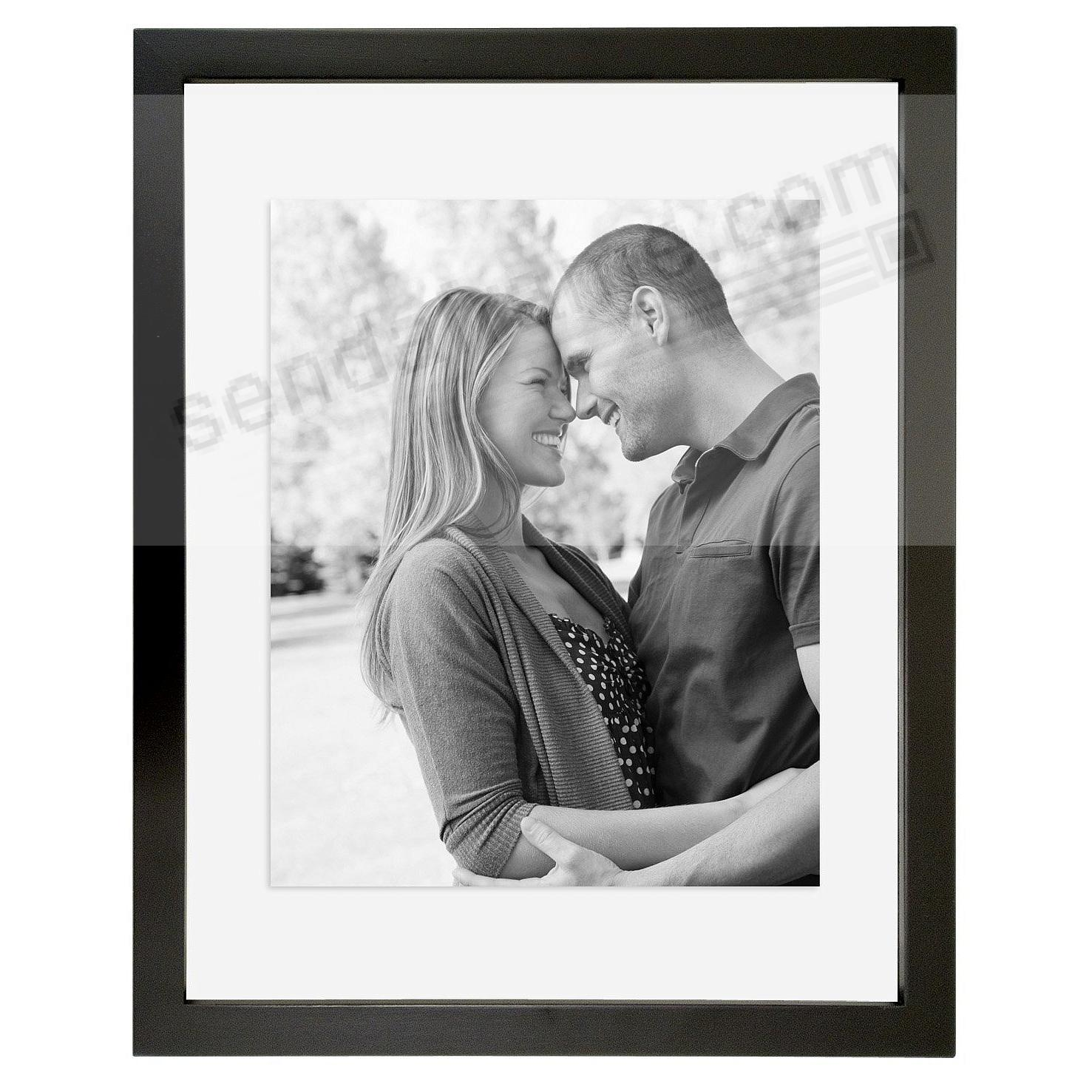 the original float uandu doublesided 16x20 black stain wood wall frame