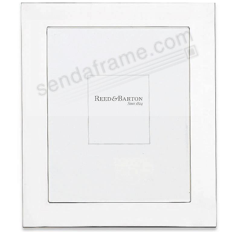 Fine Sterling Silver WIDE BORDER luxe 8x10 frame by Reed & Barton®