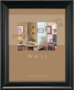 MONARCH black wood wall frame from MCS