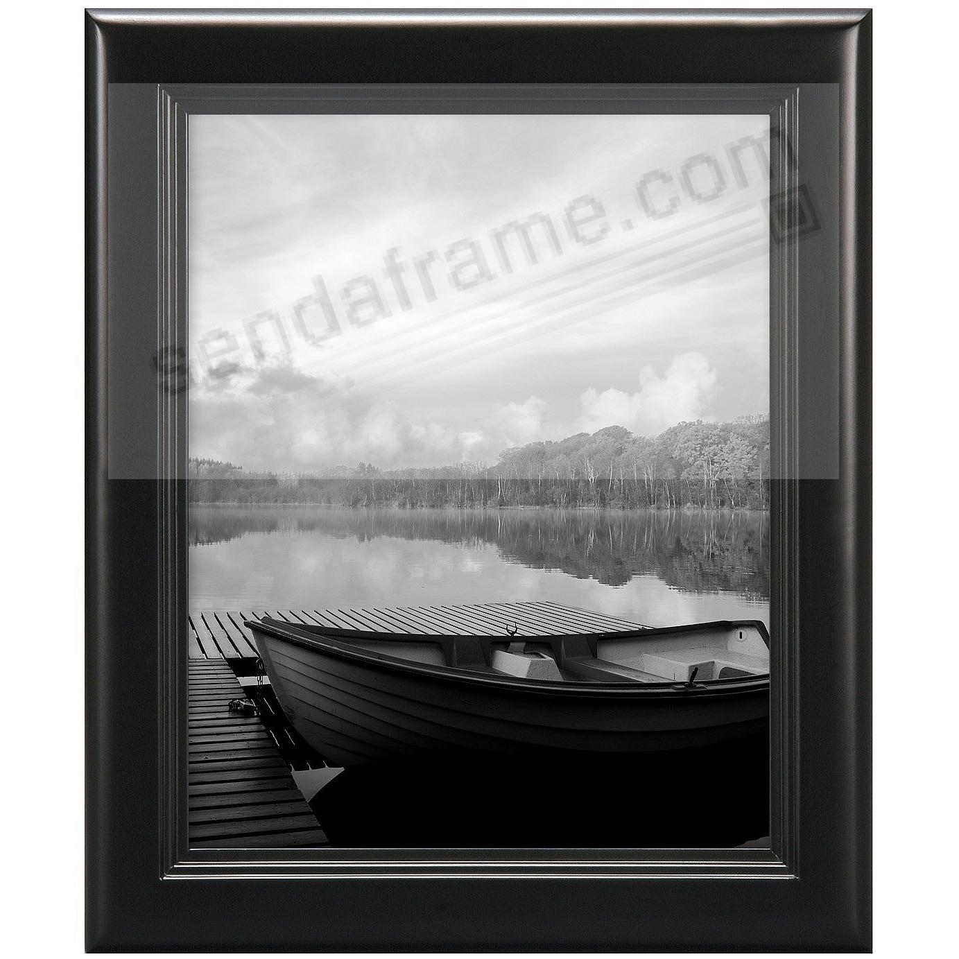 STEP Solid Wood Black wall 8x10 frame from MCS®