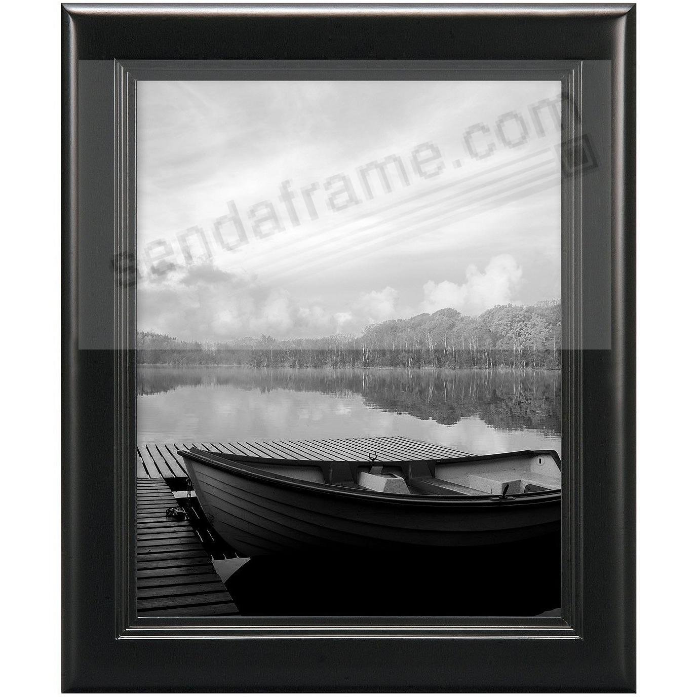 STEP Pine Wood Black Wall 11x14 frame from MCS®