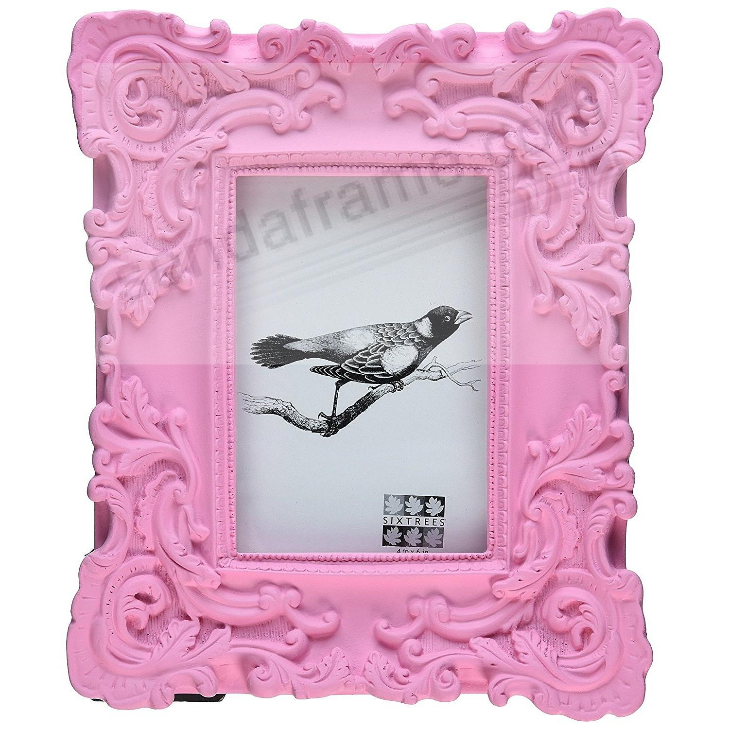 pink baroque collection frame by sixtrees