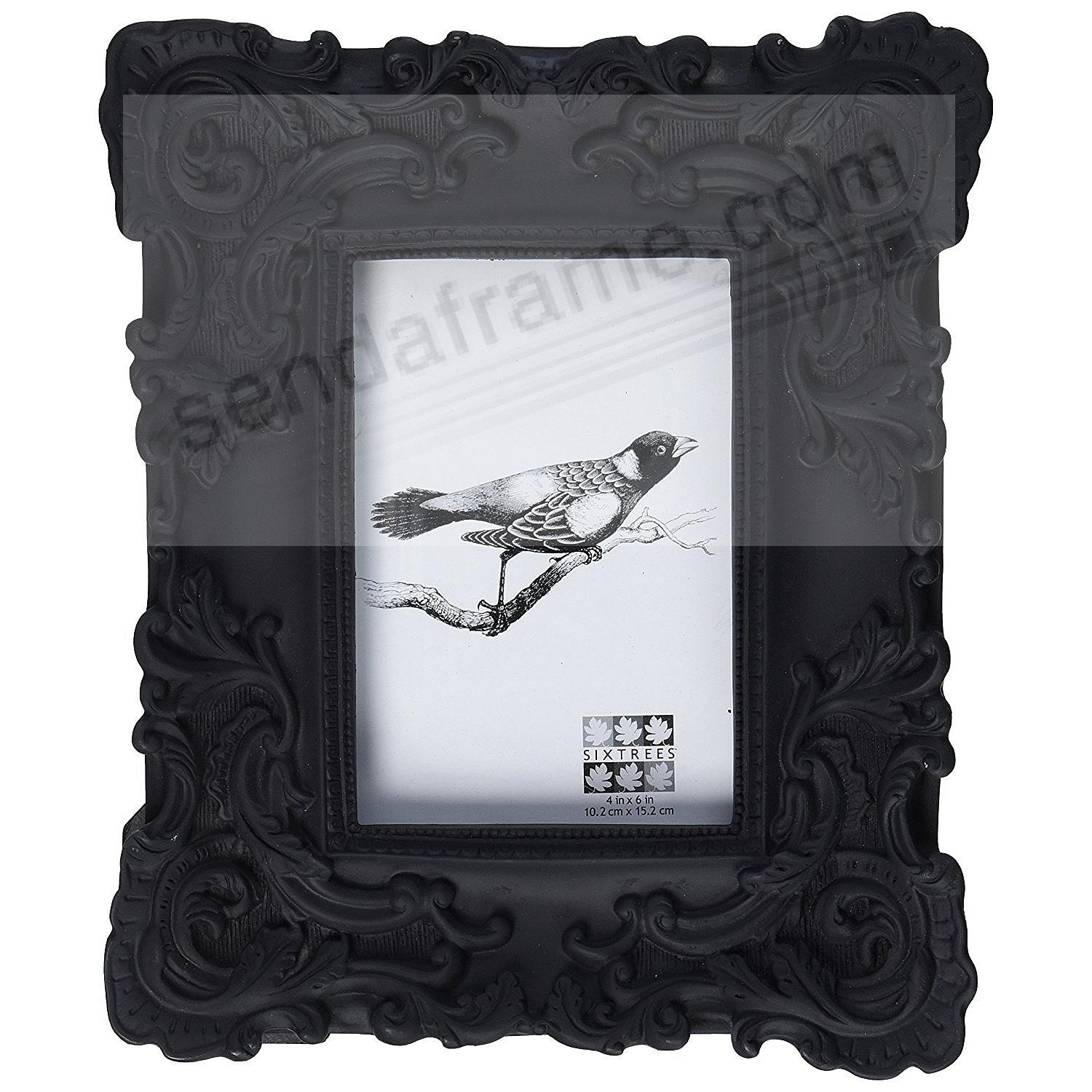 Black Baroque Frame By Sixtrees 174 Picture Frames Photo