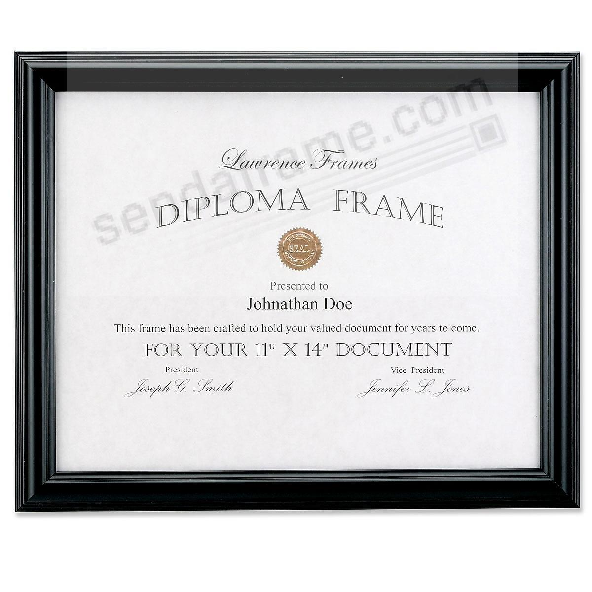 Economical Black Document by Lawrence Frames®