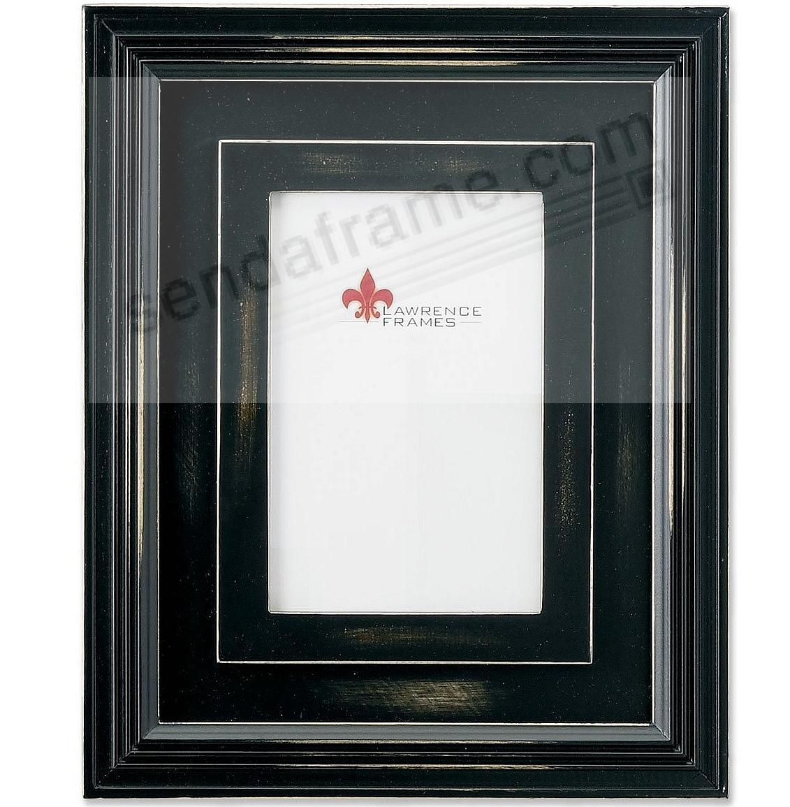 Dimensional rustic black frame by Lawrence Frames®