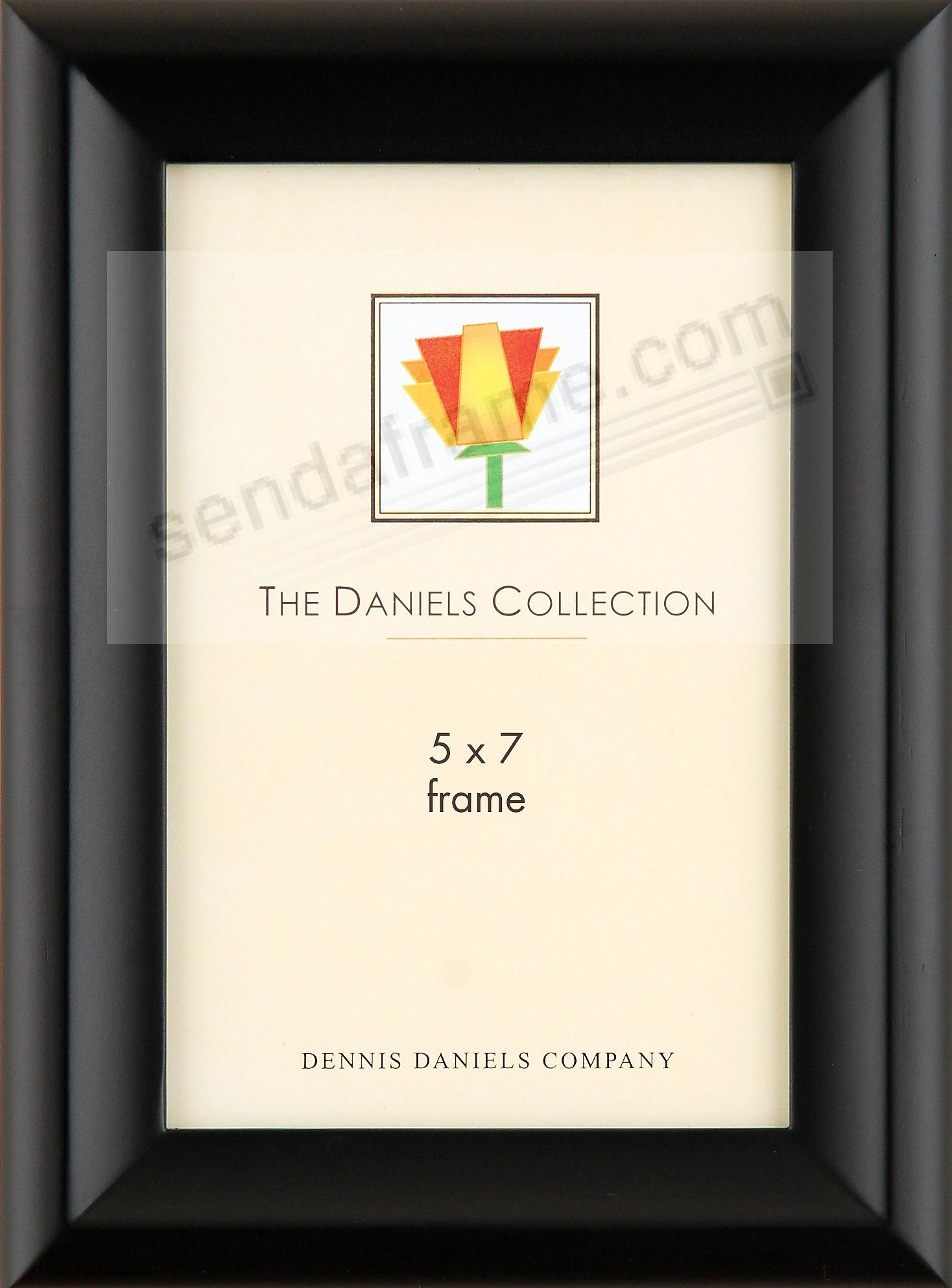 Fine furniture finish black ebony CONTOUR bevel by Dennis Daniels®
