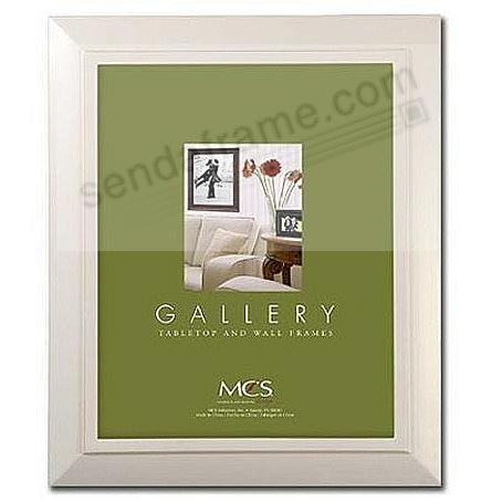 NANTUCKET distressed white wood poster frame from MCS®