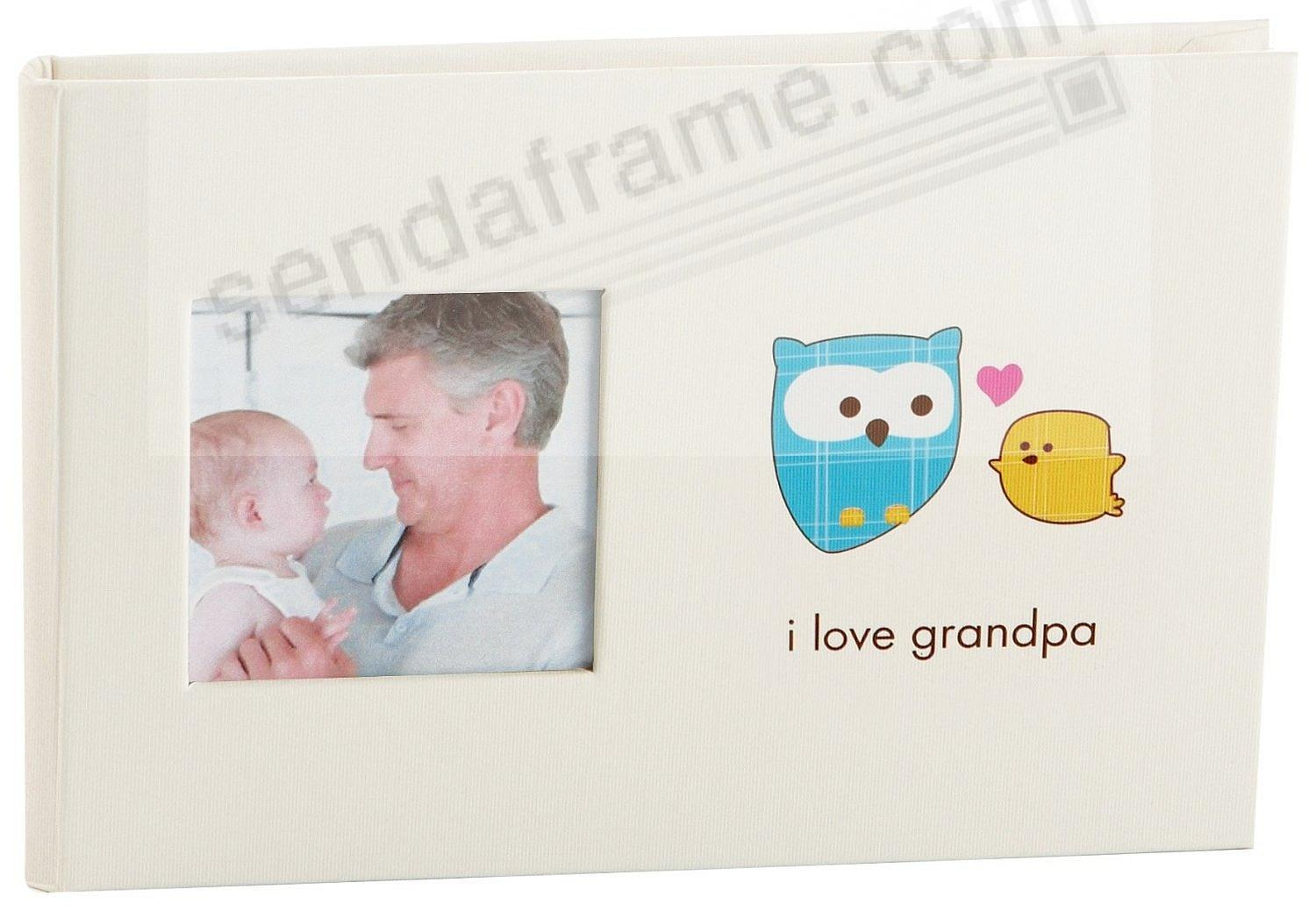 Bragbook I Love Grandpa by Babyprints - Picture Frames, Photo Albums ...