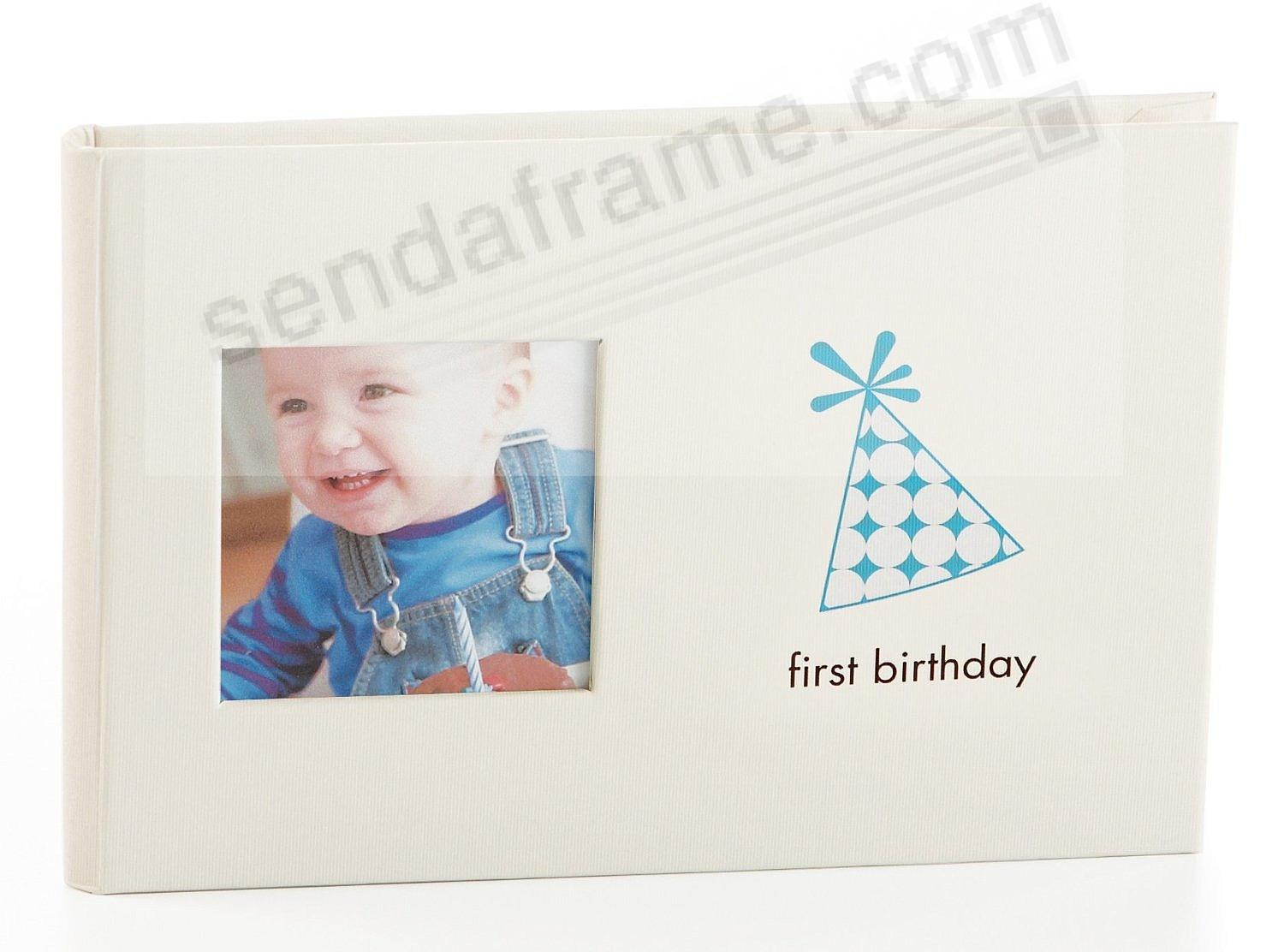 First Birthday Boy Bragbook By Babyprints Picture Frames Photo
