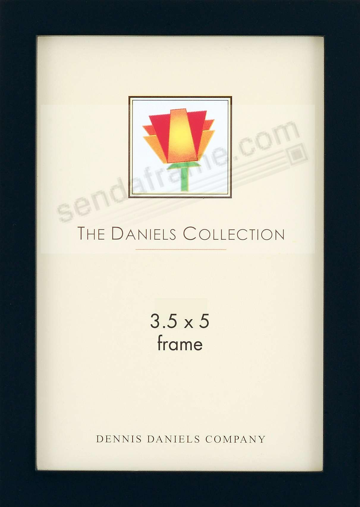 The Original DANIELS W41: Black Square Corner GALLERY WOODS by Dennis Daniels®