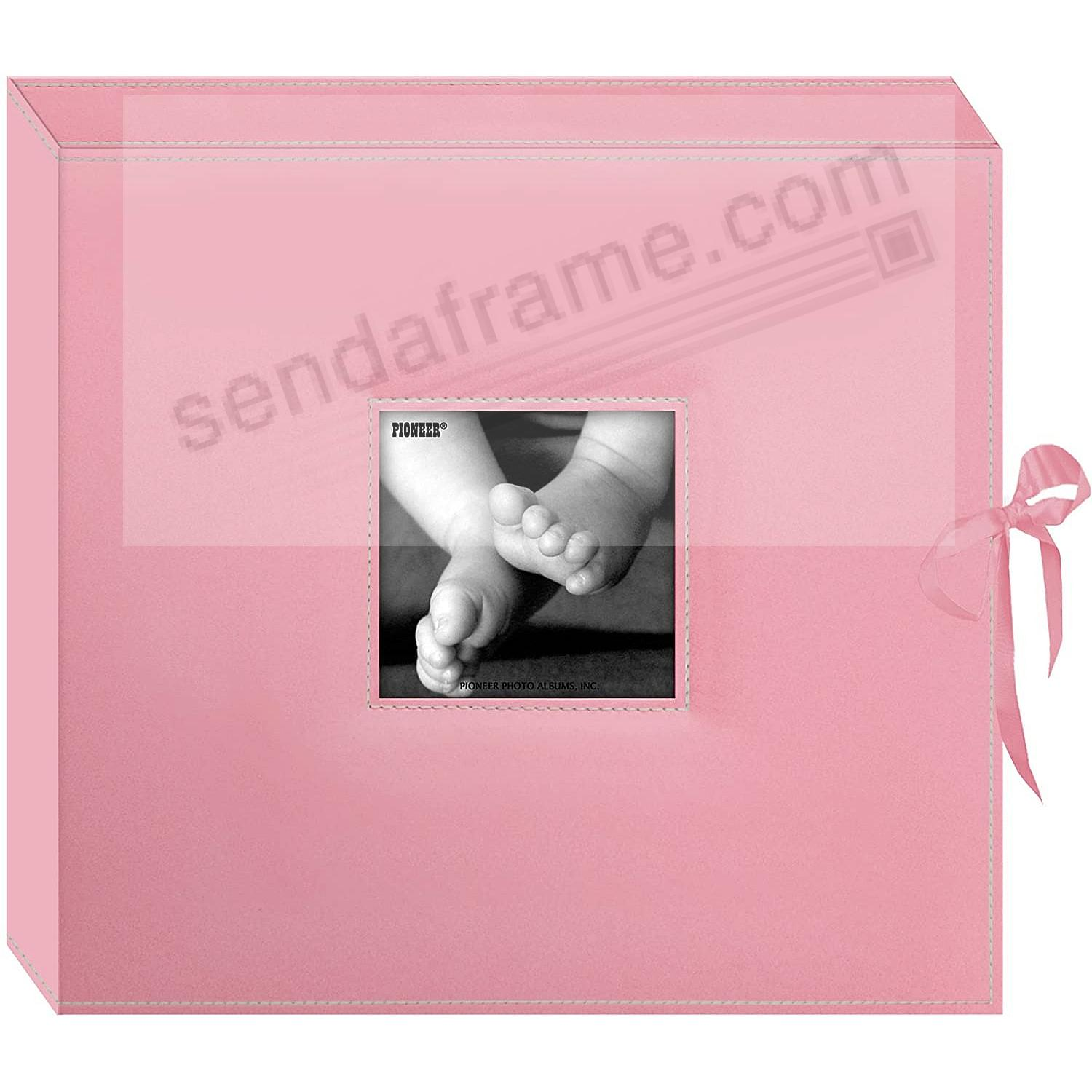 New Baby-Pink SCRAPBOOK PHOTO BOX keepsake album by Pioneer®
