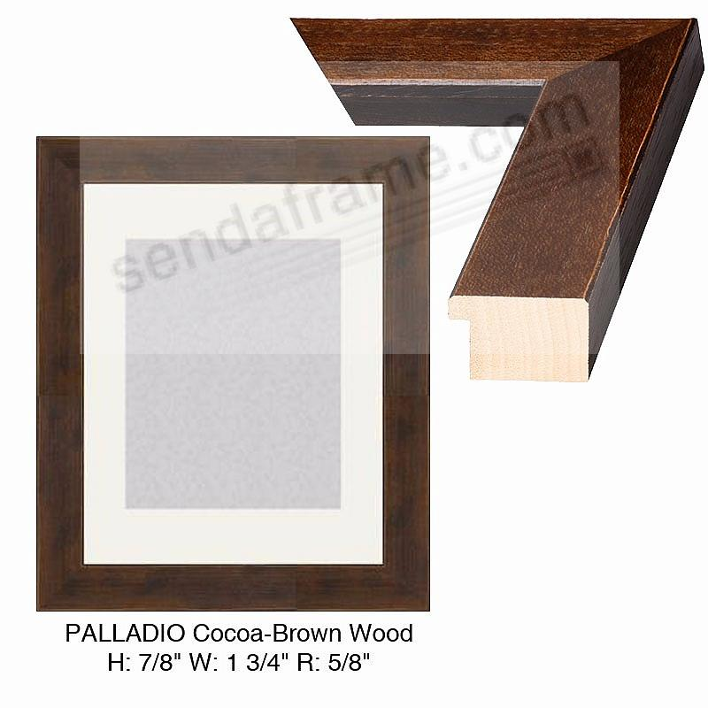 Custom-Cut™ PALLADIO Cocoa-Brown H:7/8 W:1-3/4 R:5/8