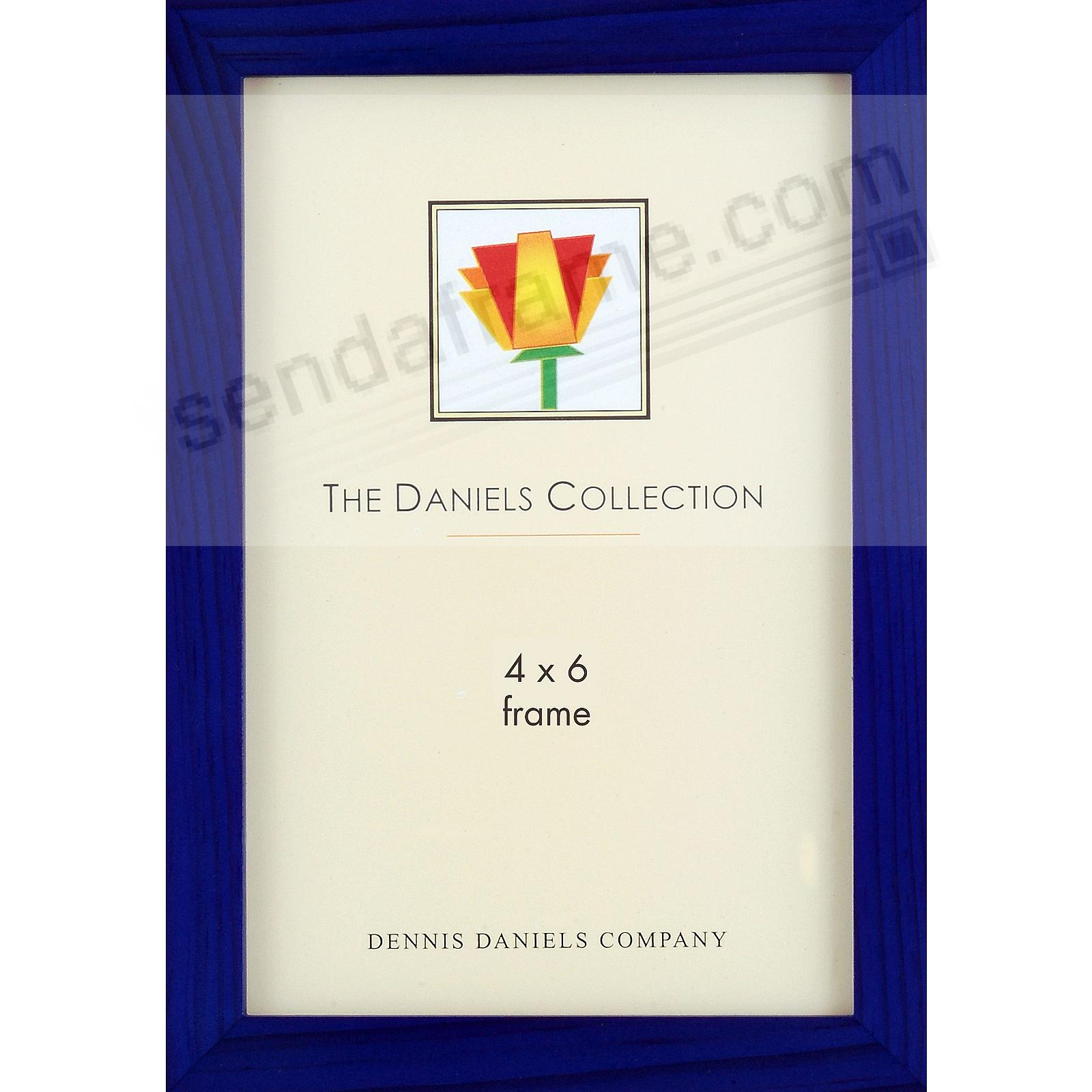 The Original DANIELS W41: Square Corner GALLERY WOODS Blue-Stained Oak by Dennis Daniels®