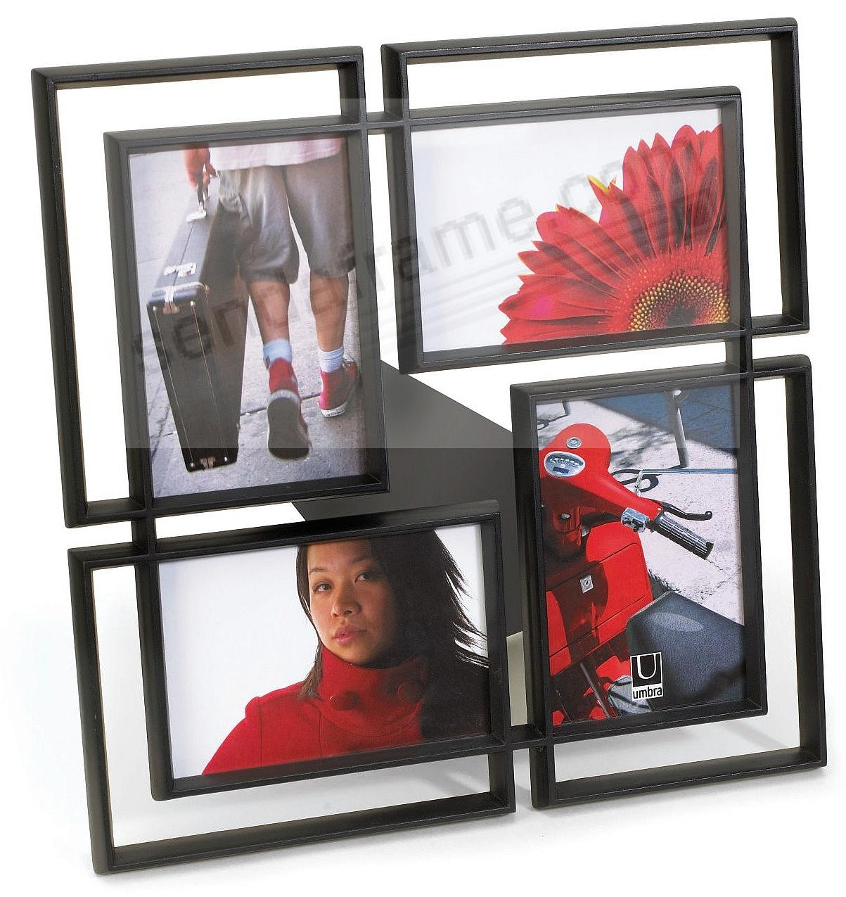Connect Multi Frame In Black By Umbra Picture Frames