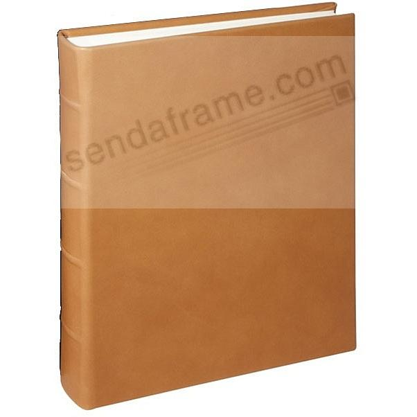 Traditional Coach-Tan Leather Junior Bound Album <br>by Graphic Image&trade;