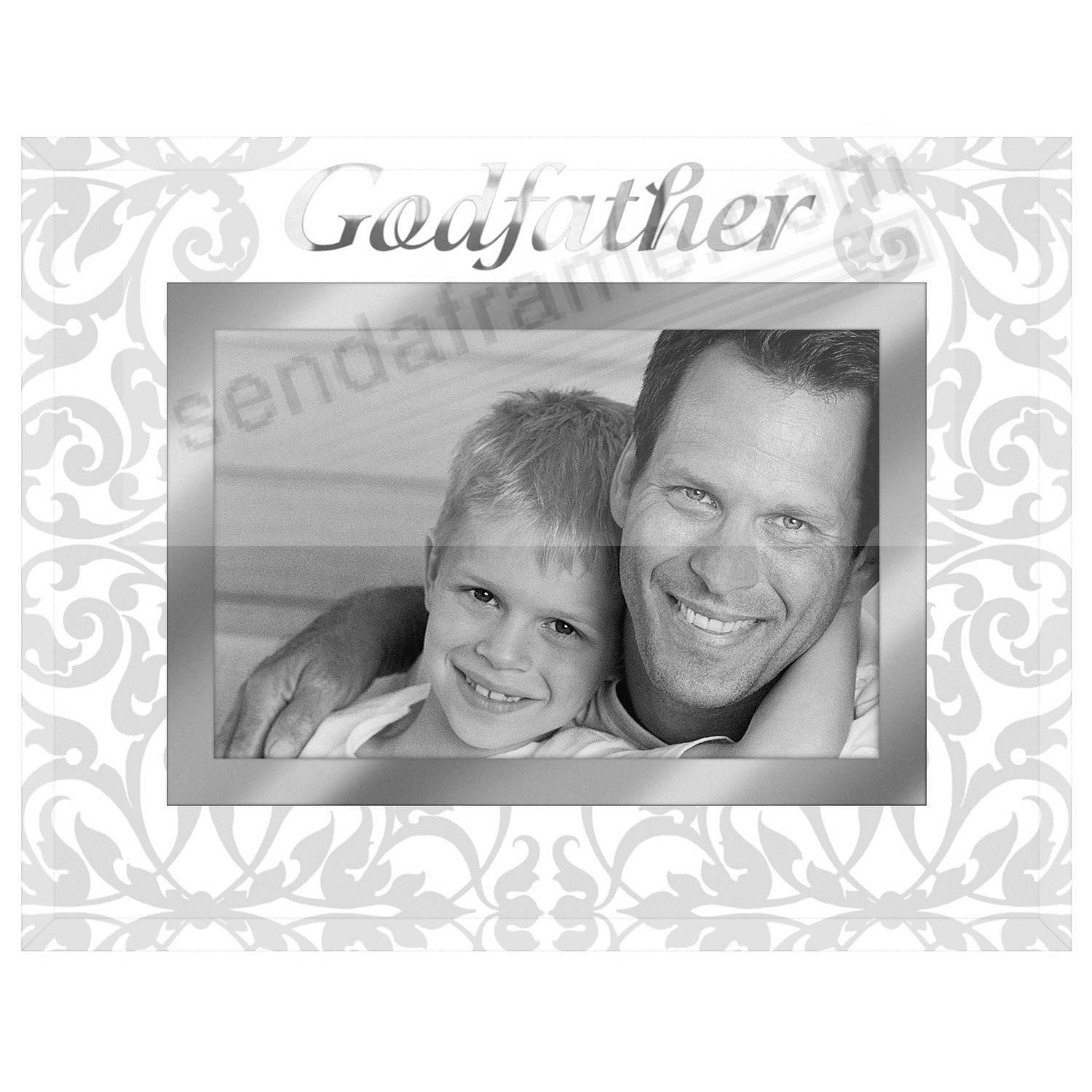Clear Expressions GODFATHER glass keepsake - Picture Frames, Photo ...