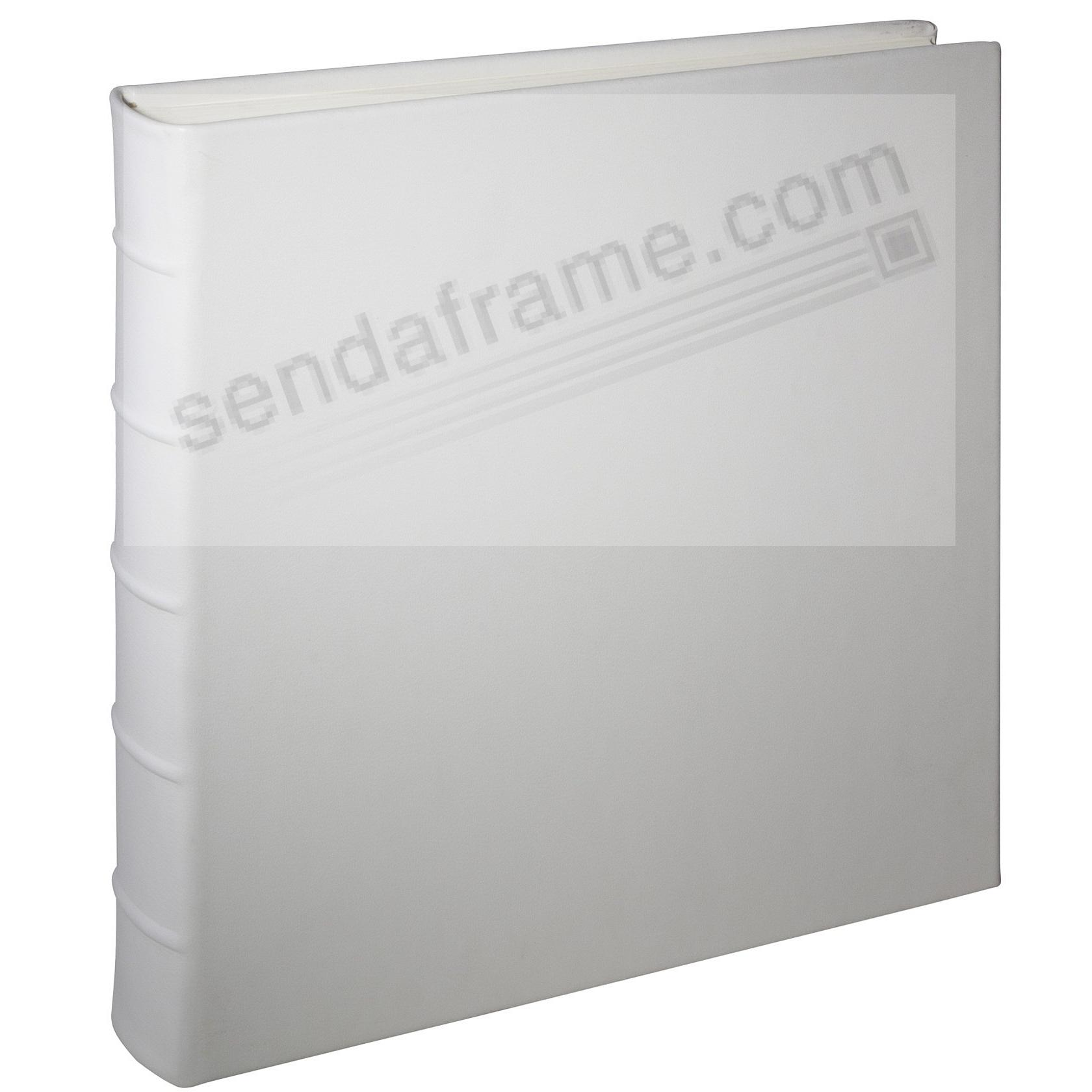 Wedding-White Leather Bound (Large) 13x13 Album<br>by Graphic Image&trade;