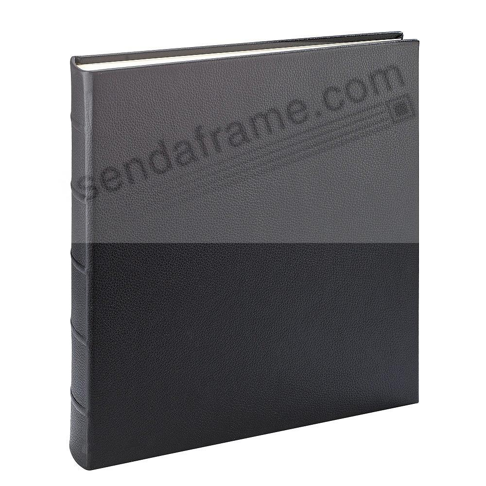 Large 13x13 Traditional Black Leather Bound Album By Graphic