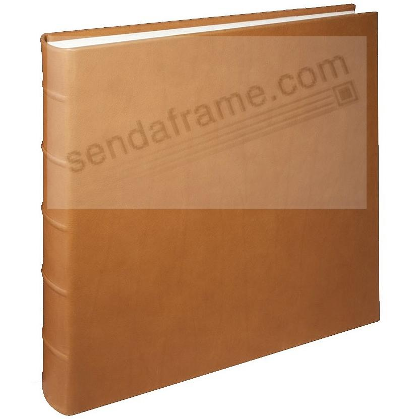 LARGE 13x13 Traditional Coach-Tan Leather Bound Album<br>by Graphic Image&trade;
