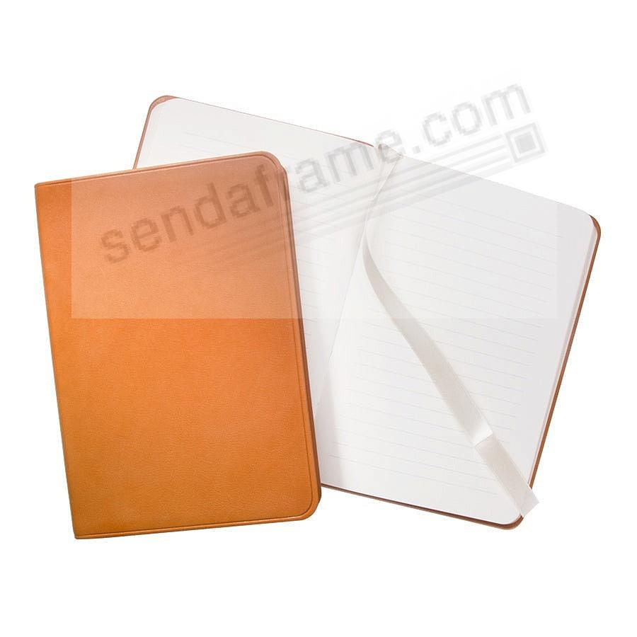 Luxe Soft Cover Coach-Tan Leather 9inch Large Journal by Graphic Image™