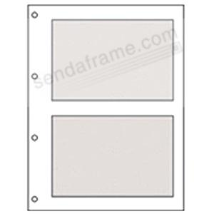 Genuine 5x7 Refills for the Extra Large Window Frame Album<br>by Graphic Image&trade;