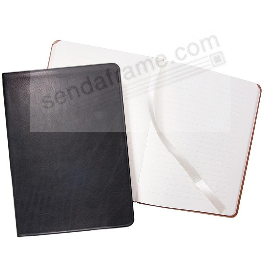 Luxe Flexible Black Leather 8inch Journal by Graphic Image™
