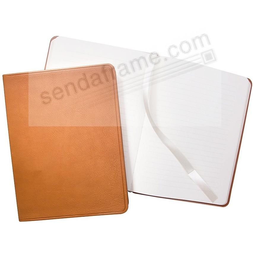 Luxe Flexible British-Tan Leather 8inch Journal by Graphic Image™