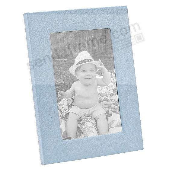 Traditional Baby Blue Leather STUDIO Frame<br>by Graphic Image&trade;