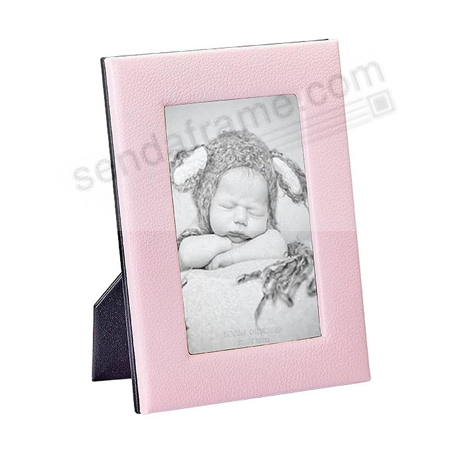 Traditional Baby Pink Leather STUDIO Frame<br>by Graphic Image™