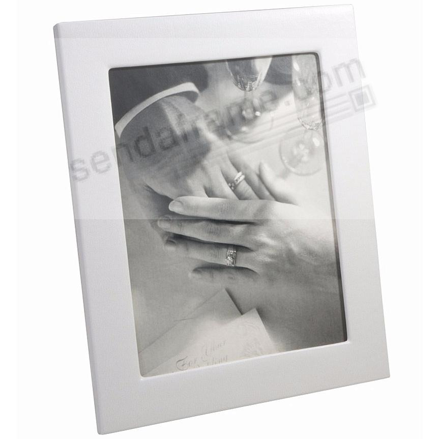 Traditional Wedding White fine leather STUDIO Frame by Graphic Image™