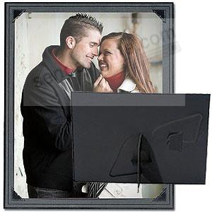 BROADWAY Black 8x10 dual easel cardstock frame w/black trim (sold in 10's)