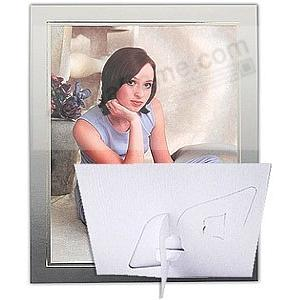 FANTASY EASEL Gray/Gold<br>8x10 photo frame (sold in 20's)