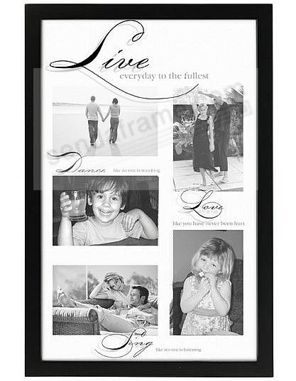 LIVE - DANCE - LOVE - SING reflection shadow collage displays 5 by ...