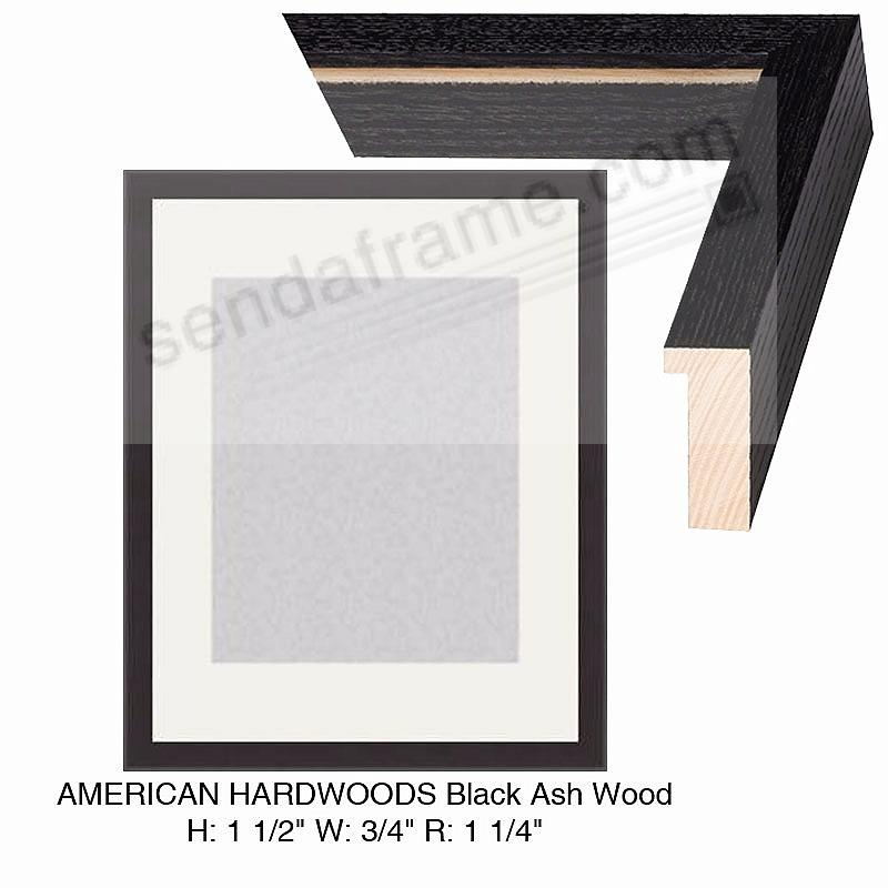 Custom-Cut™ AMERICAN HARDWOODS Black Ash H:1-1/2 W:3/4 R:1-1/4