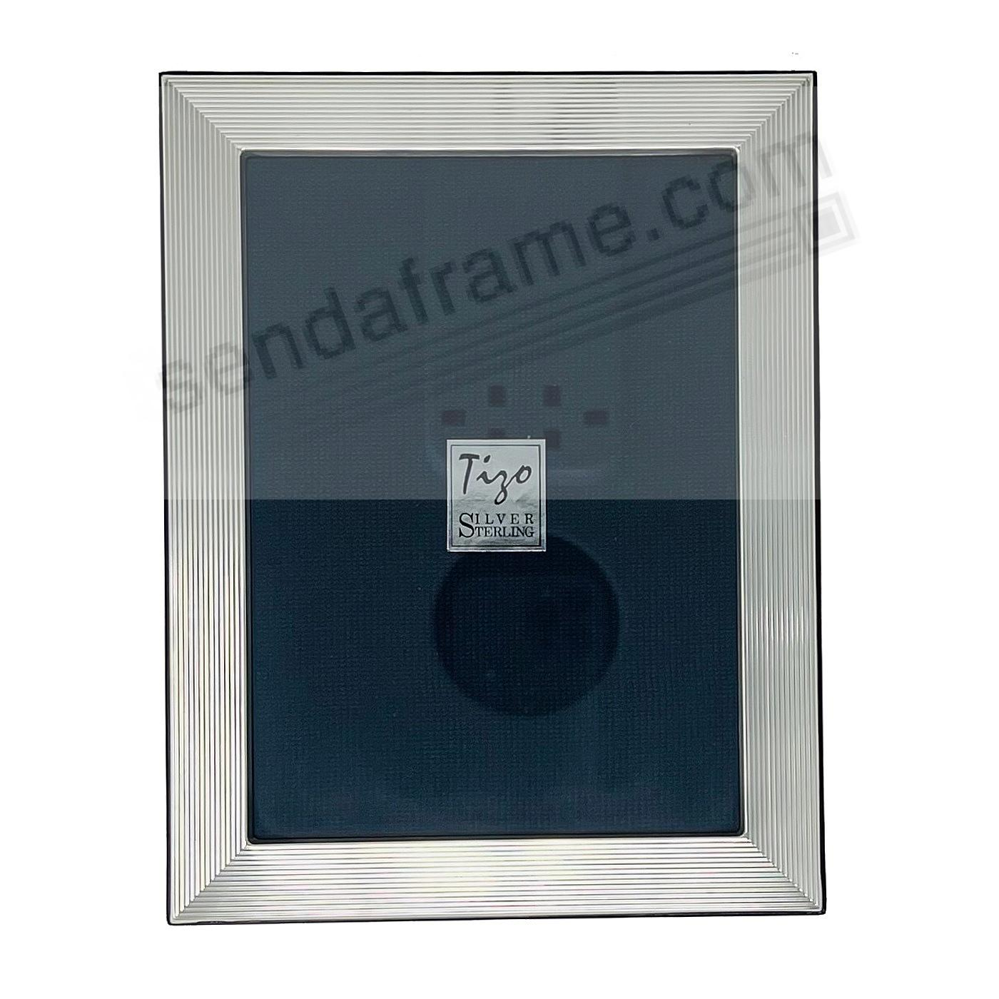 Tizo® GROOVE Fine Sterling Silver 4x7 Frame - Italy