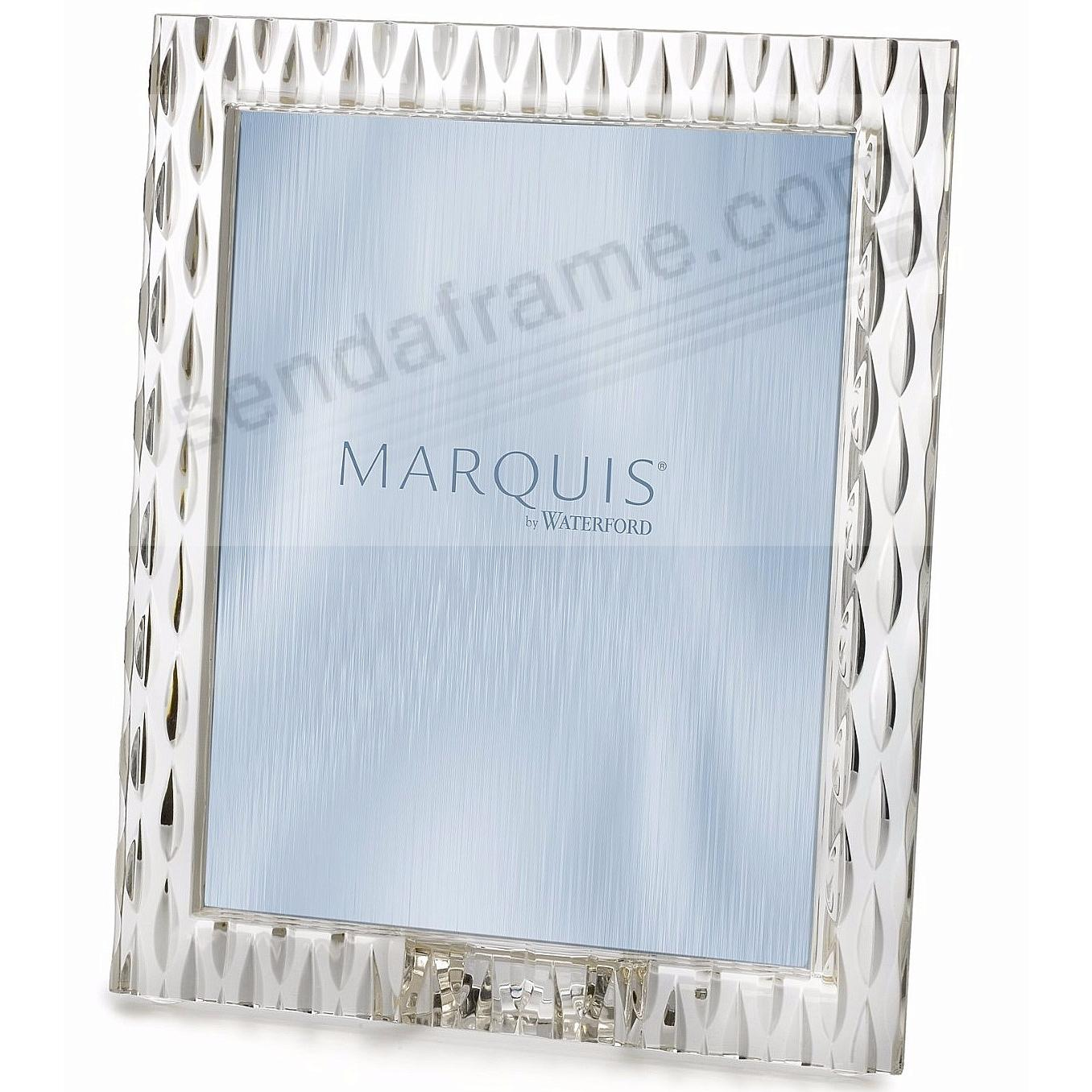 Waterford marquisr crystal rainfall picture frames for Engraved digital photo frame